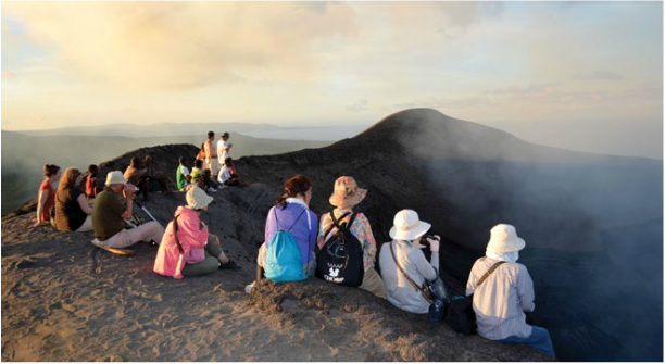 Unity Airlines, Mt Yasur, Tanna Volcano Overnight Tour
